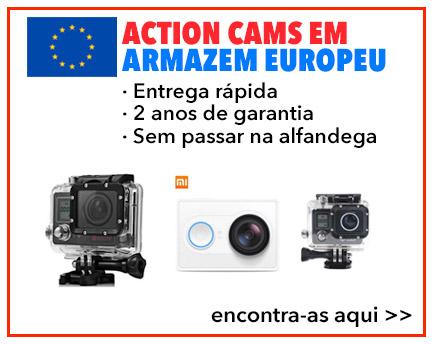 Action Cams Armazém Europeu